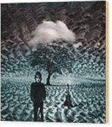 Bob Dylan A Hard Rain's A-gonna Fall Wood Print