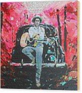 Bob Dylan - Crossroads Wood Print