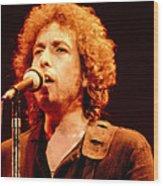 Bob Dylan '79 Wood Print