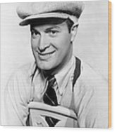 Bob Hope, Paramount Portrait, Circa 1938 Wood Print