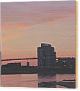 Bob Kerry Pedestrian Bridge Wood Print