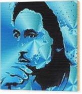 Bob Marley Portrait Wood Print by Stefon Marc Brown