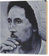 Bob Marley Wood Print by Stefon Marc Brown