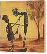 Bob 'n' Betty - Broken Hill Wood Print