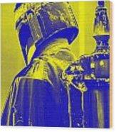 Boba Fett Costume 1 Wood Print