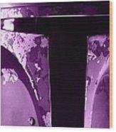 Boba Fett Helmet 105 Wood Print