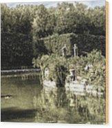 Boboli Gardens Wood Print
