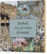 Boboli La Grotta Grande 1 Wood Print