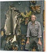 Bobp Wood Print