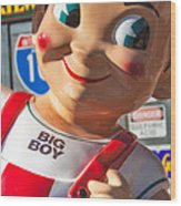 Bob's Big Boy Wood Print