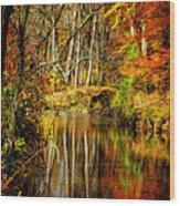 Bob's Creek Wood Print