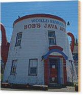 Bob's Java Jive Wood Print