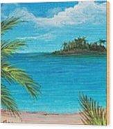 Boca Chica Beach Wood Print