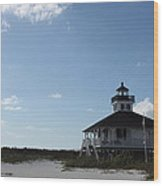 Boca Grande At Twiglight Wood Print