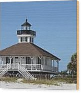 Boca Grande Light Wood Print