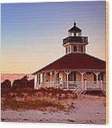 Boca Grande Lighthouse - Florida Wood Print