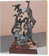 Boca Sculpture Wood Print