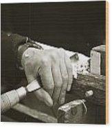 Bodger Bodging Wood Print