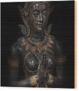 Bodhisattva Princess Wood Print by Daniel Hagerman