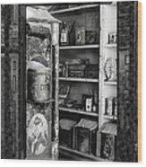 Bodie California Store Window Wood Print