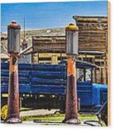 Bodie Gas Wood Print