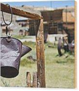Bodie Ghost Town 2 - Old West Wood Print