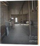 Bodie Gym Wood Print