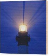 Bodie Island Light - Fs000226 Wood Print