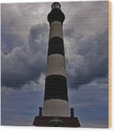 Bodie Island Lighthouse 4 5/14 Wood Print