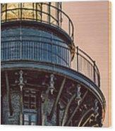 Bodie Island Lighthouse Close-up Wood Print