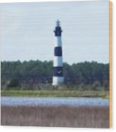 Bodie Light And Birds Wood Print