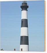 Bodie Lighthouse - Outer Banks Nc Wood Print