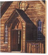 Bodie Methodist Church Wood Print