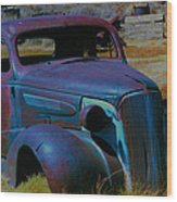 Bodie Plymouth Wood Print