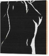 Body And Light Wood Print