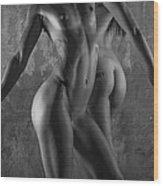 Body Language Wood Print