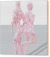 Bodybuilding-linie-mixa Wood Print
