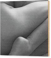 Bodyscape-03 Wood Print