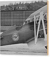 Boeing 100-f  P-12 Prototype Wood Print