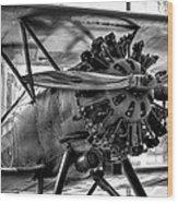 Boeing 100p Fighter II Wood Print