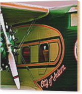 Boeing 80 Wood Print