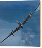 Boeing B-17 Flying Fortress Wood Print