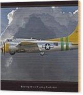 Boeing B-17 Wood Print