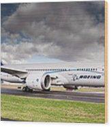 Boeing Dreamliner 787 Wood Print