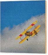 Boeing N2s Wood Print