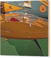 Boeing P26 Peashooter Wing Wood Print