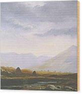 Bogland Light Wood Print
