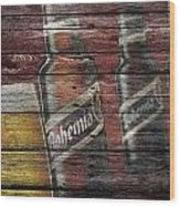 Bohemia Beer Wood Print