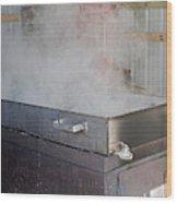 Boil Wood Print