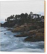 Boiler Bay Wood Print